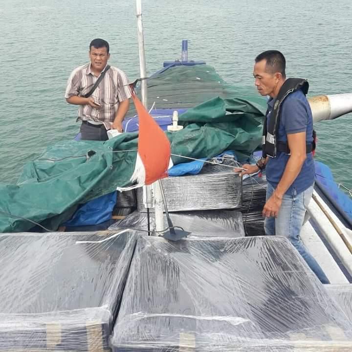 Bawa Ribuan Item Barang Selundupan, KM Nur Fauzi Diamankan Ditpolairud Polda Kepri
