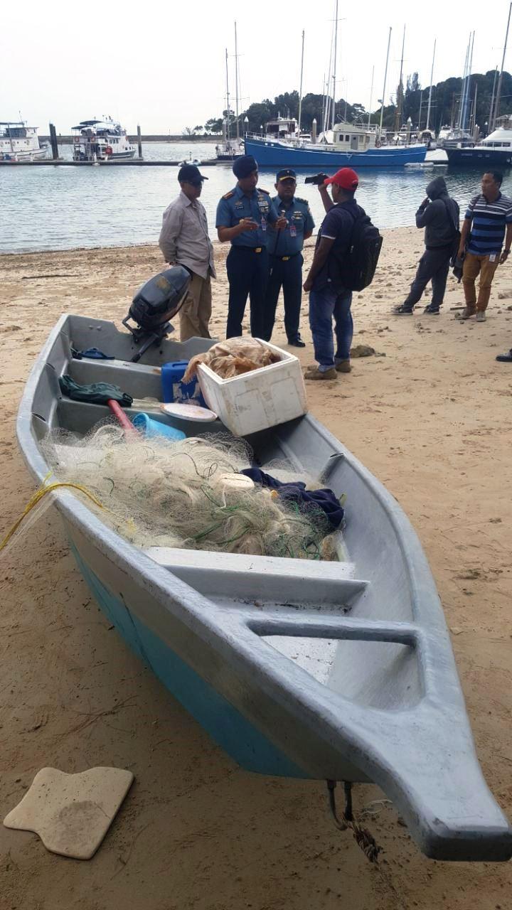 Speedboat Diduga Bawa Sabu Diamankan WFQR IV Koarmabar, Dua Pengawak Terjun ke Laut