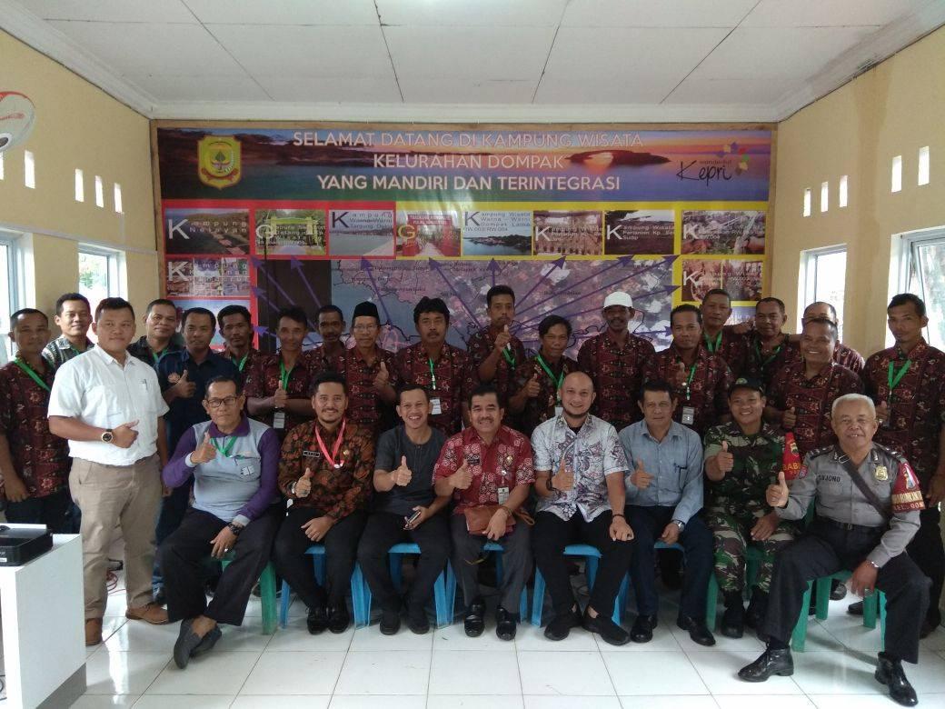 Kelurahan Dompak Bertekad Ciptakan Kampung Wisata Yang Mandiri dan Terintegrasi