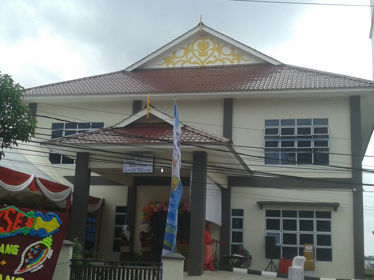 Wali Kota Tanjungpinang Resmikan Klinik Bersalin 24 jam dan Gedung Baru Puskesmas Pancur