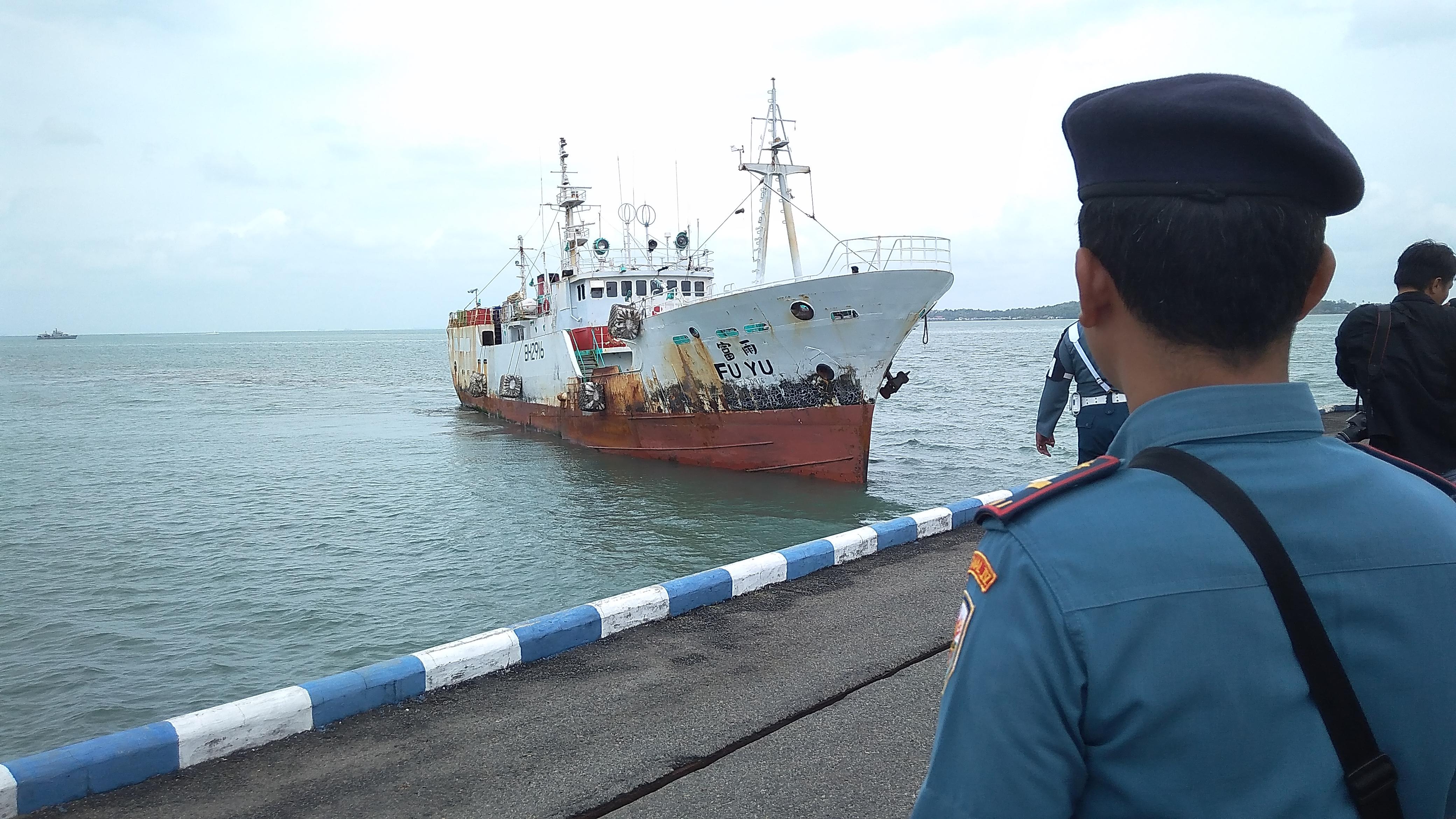 Kapal Ikan Taiwan Tangkapan KRI Sigurot Miliki Lima Nama dan Dokumen
