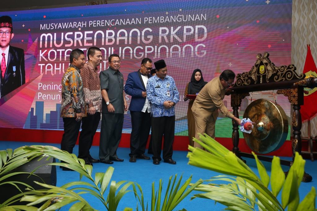 Gubernur Kepri Buka Musrenbang RKPD Kota Tanjungpinang Tahun 2018
