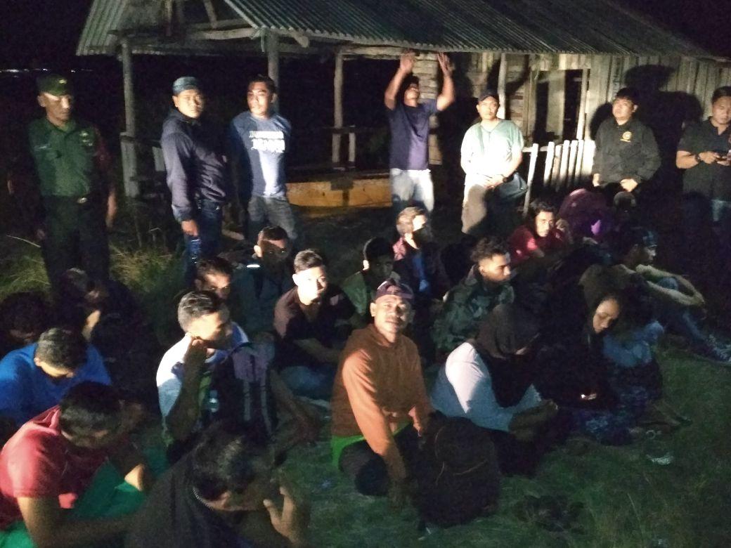 Kodim Bintan Gagalkan Keberangkatan 27 Calon TKI Illegal ke Malaysia