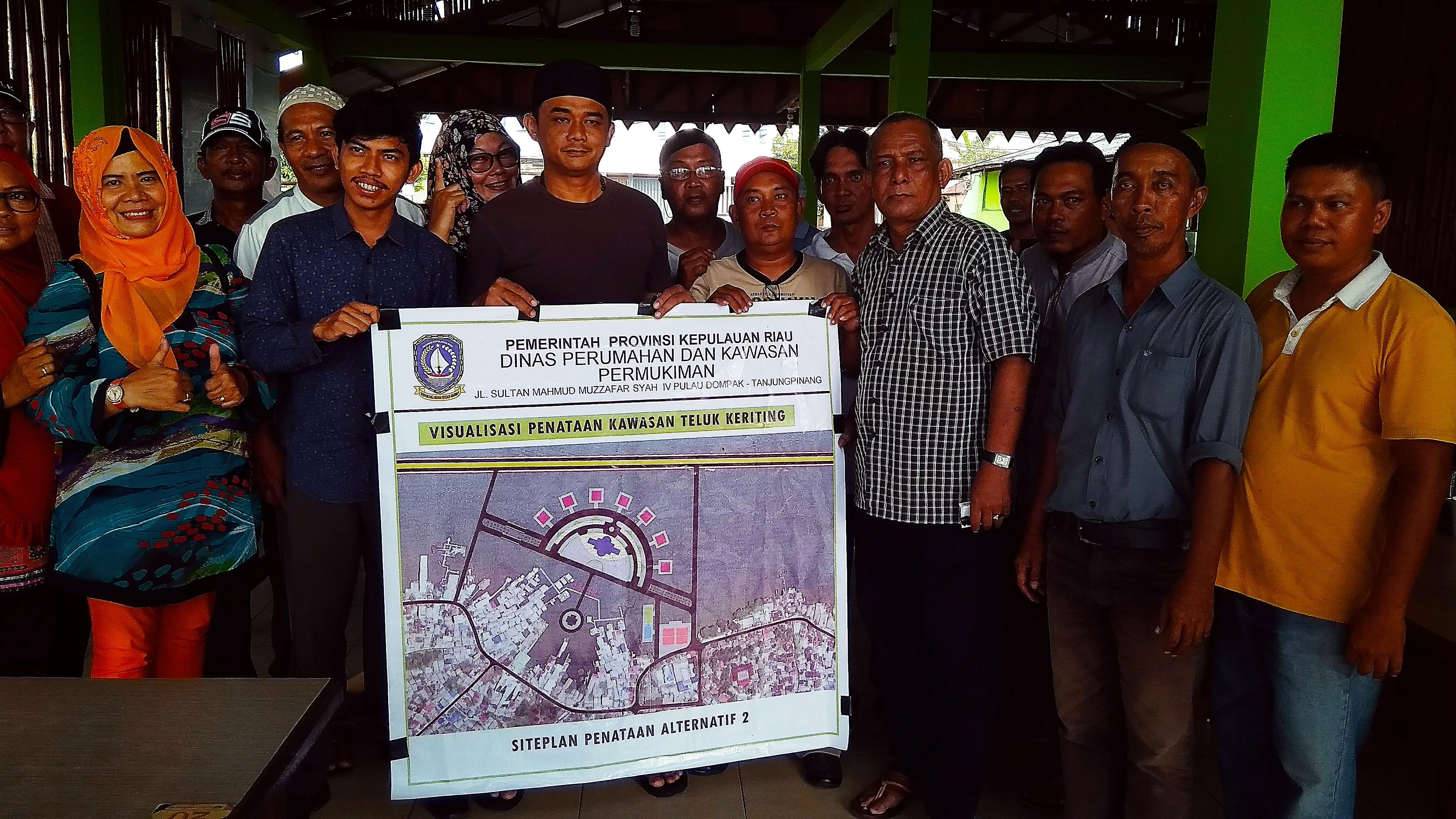 Formatur Siap Sukseskan Proyek Waterfront City Teluk Keriting