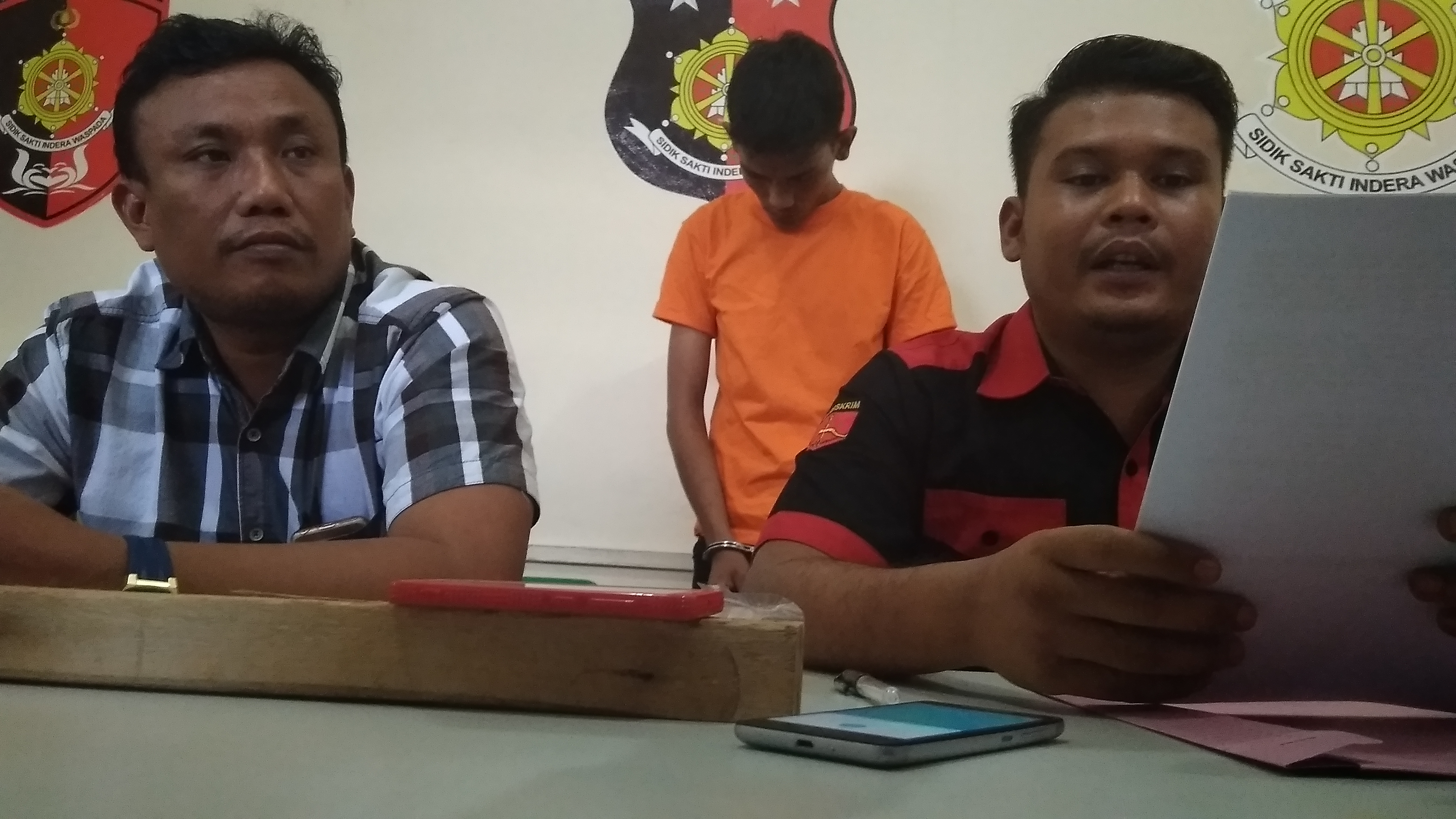 Begal Waria, Residivis Cabul Ditangkap Polsek Bukit Bestari