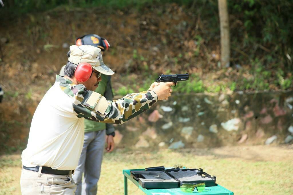 Pj. Walikota Juara 2 Menembak