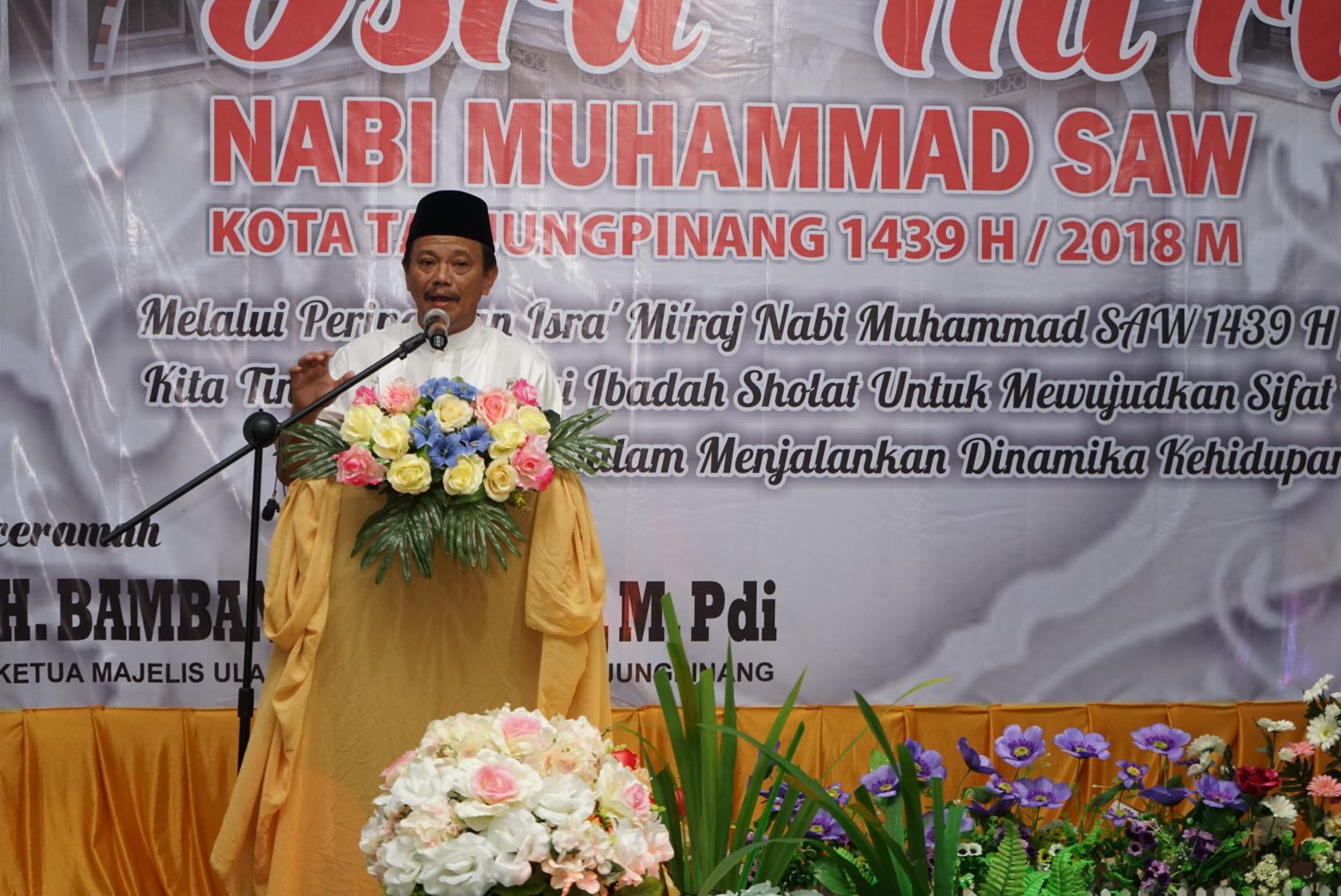 Peringati Isra Mi'raj, Pemko Tanjungpinang gelar Tabligh Akbar