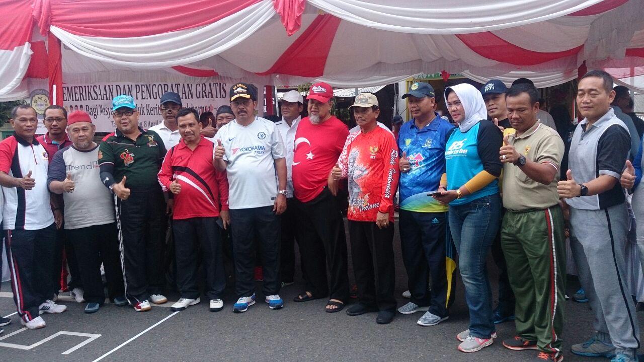 Gubernur Kepri lepas jalan santai Alumni SMPN 3 Tanjungpinang