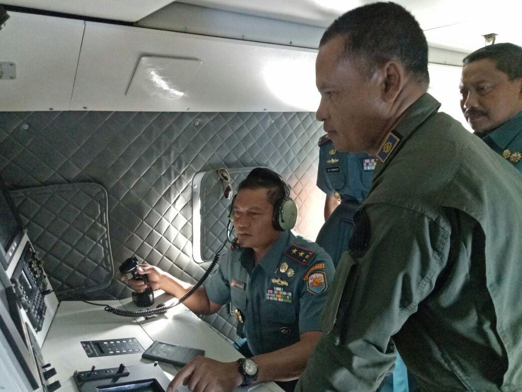 Pangarmabar Pimpin Patroli Udara di Selat Malaka