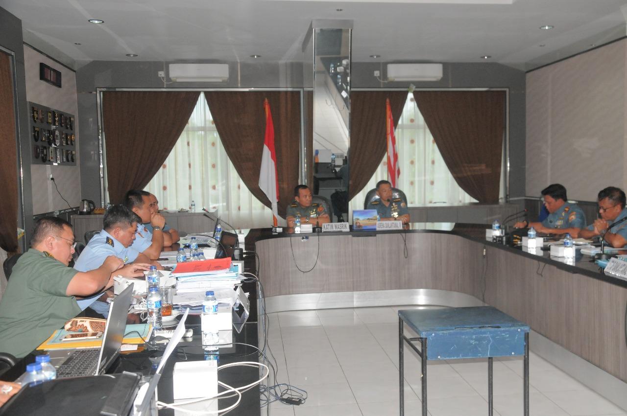 Wasrik Itjend TNI di Lantamal IV Tanjungpinang Berakhir