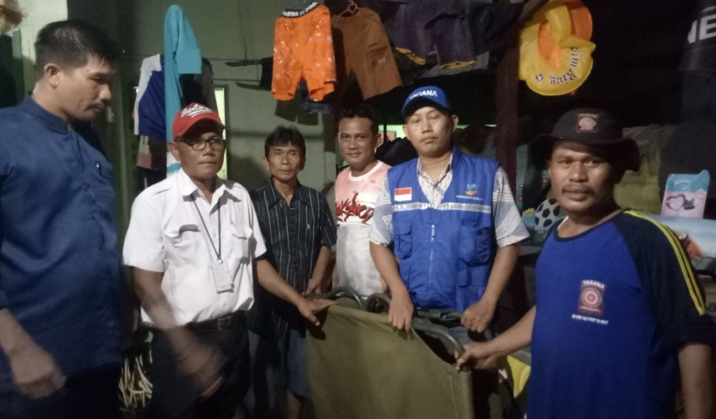 18 rumah banjir, Tagana Tanjungpinang pinjamkan Palbet