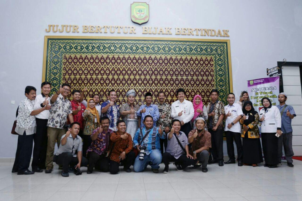 Kunker ke Tanjungpinang, Pemkab Kebumen tertarik cara kerjasama dengan media