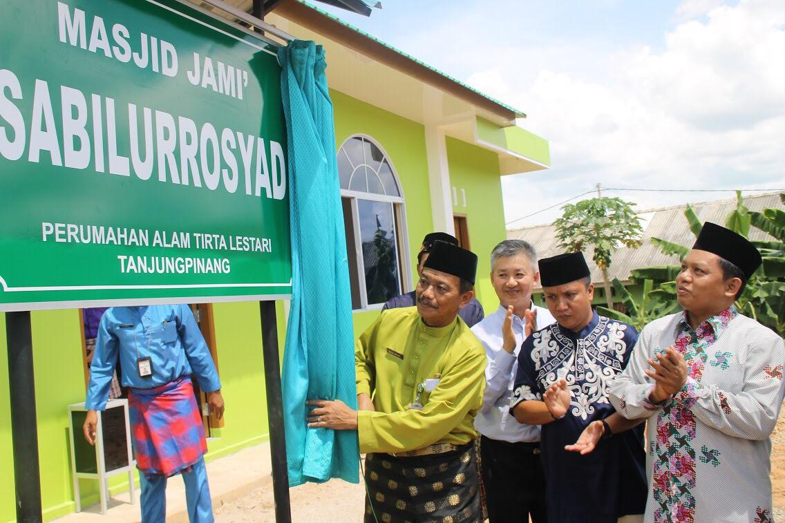 Masjid Jami Sabilurrosyad diresmikan Pj Walikota Tanjungpinang