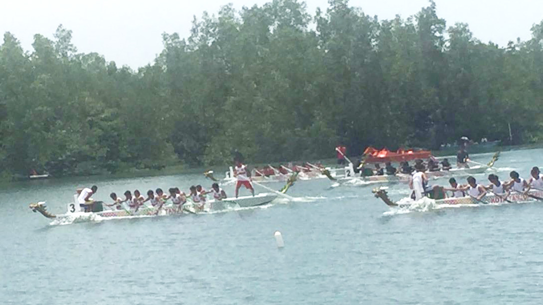 Sembahyang Keselamatan Laut, Asal Mula Dragon Boat Race