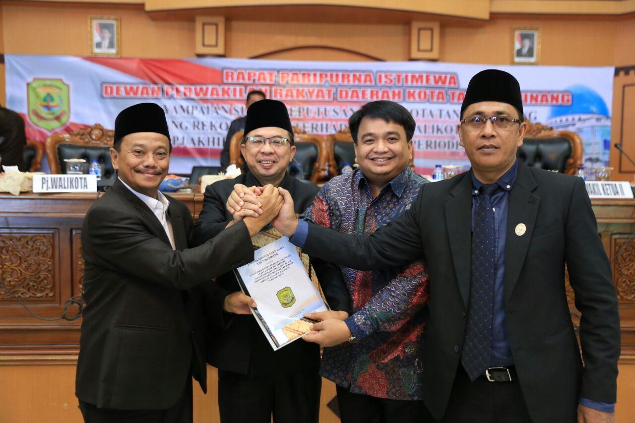7 Fraksi DPRD Tanjungpinang setujui Tiga Ranperda