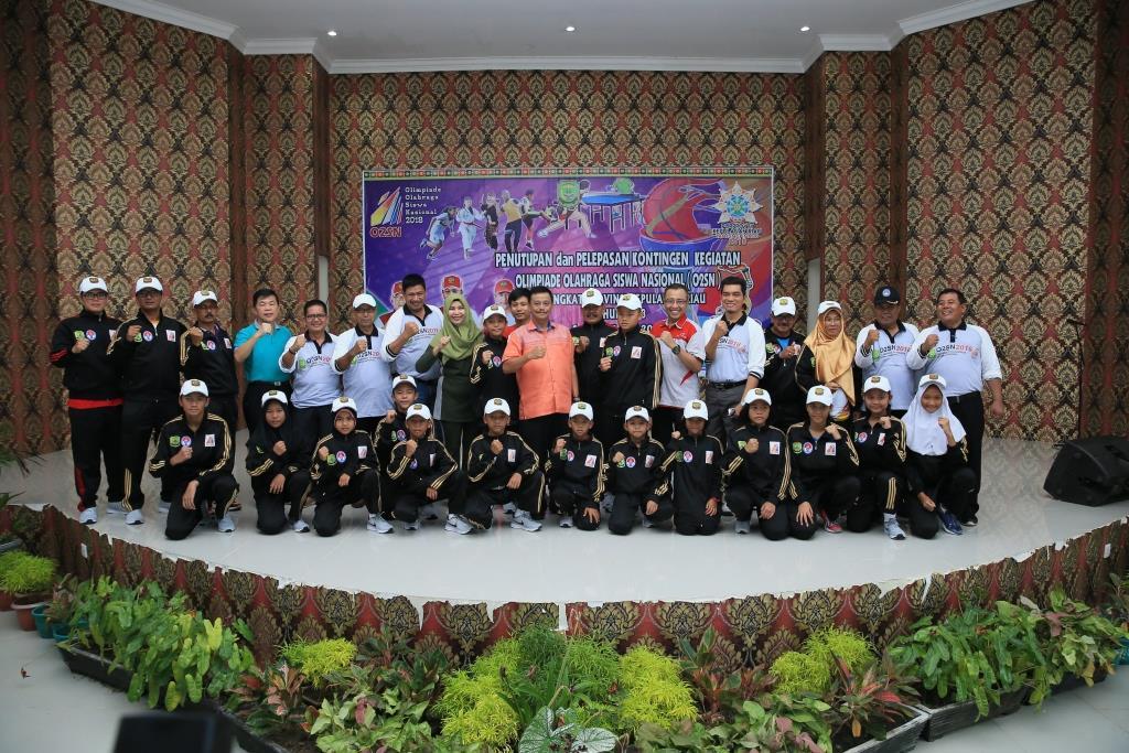 SMP 1 dan Gugus Raja Ali Haji Jawara O2SN Kota Tanjungpinang