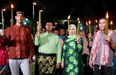 Meriahkan Ramadhan, Bupati Bintan Ingin Festival Lampu Cangkok Digelar