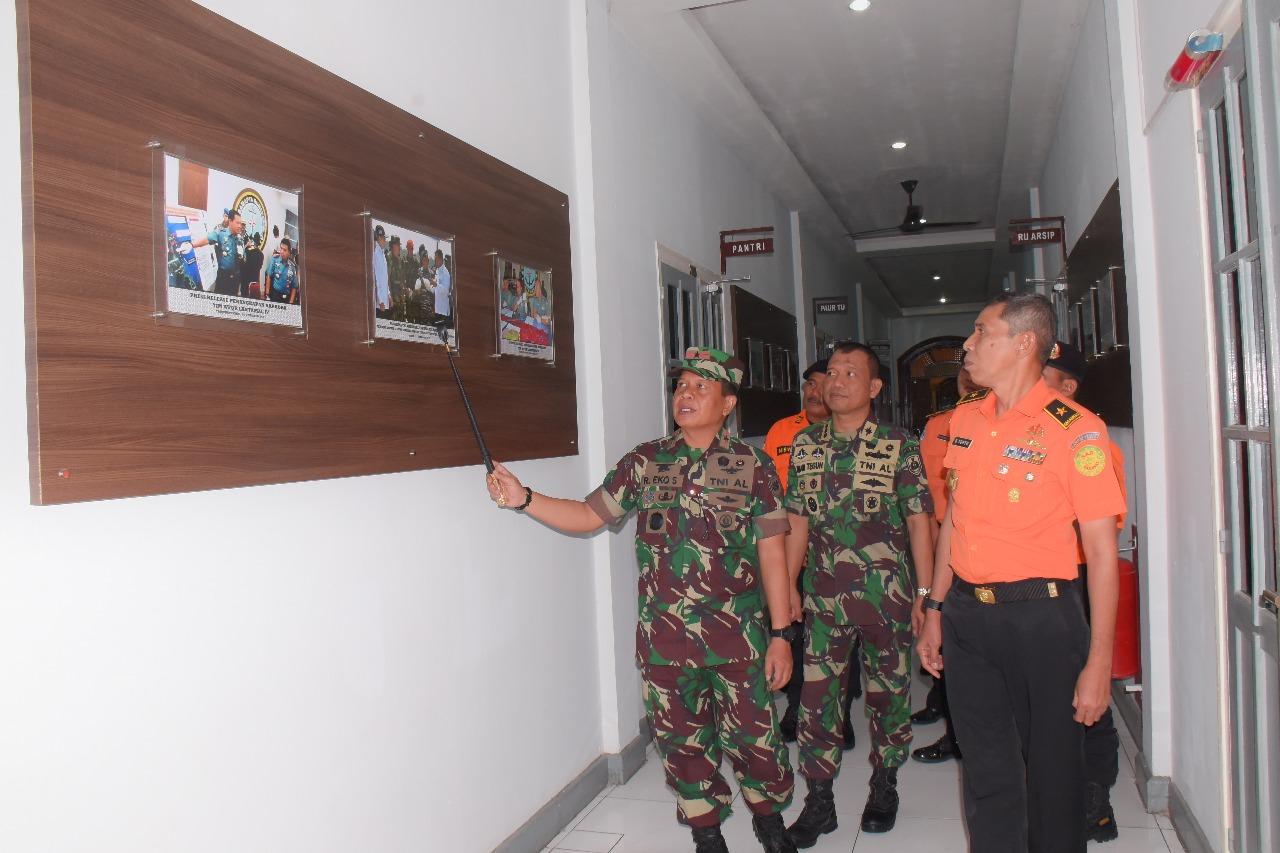 Direktur Operasi Basarnas RI Kunjungi Danlantamal IV Tanjungpinang