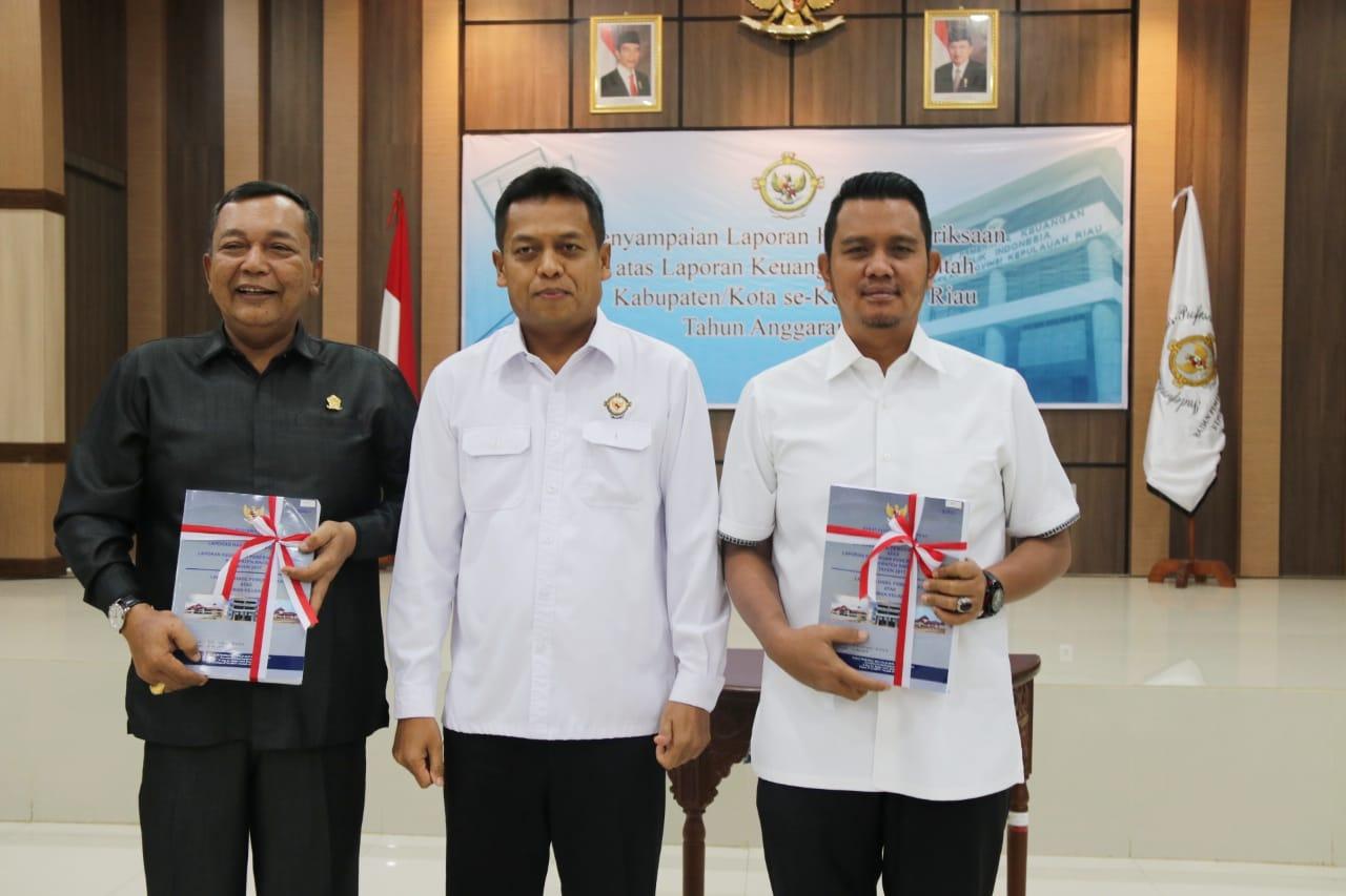 Pemkab Bintan Kembali Raih WTP LKPD Tahun 2017