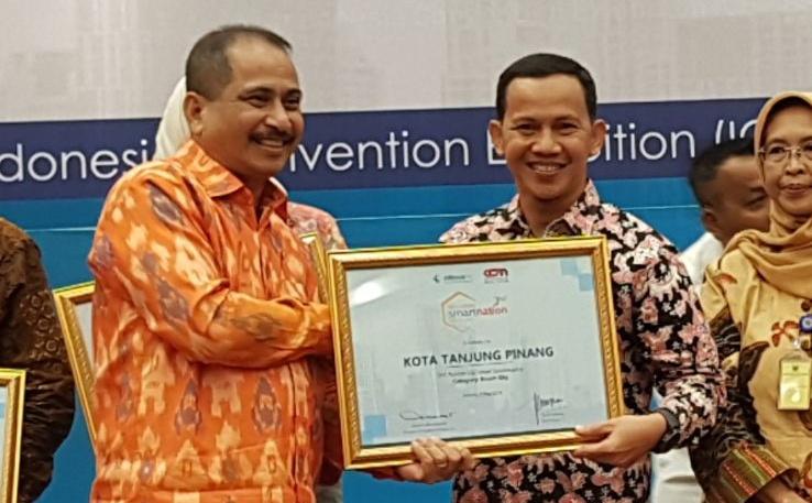 Tanjungpinang peringkat ke-3 Best Smart Governance se-Indonesia