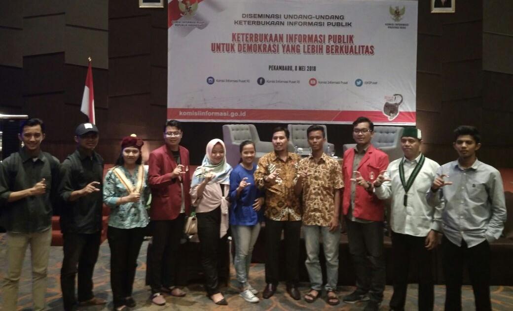 Kominfo Riau Sebut UU KIP Belum Populer di Kalangan Masyarakat