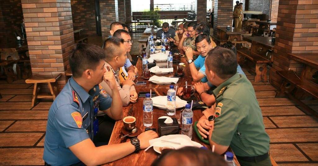 Coffee Morning bersama FKPD, Pj Walikota Tanjungpinang bahas Terorisme