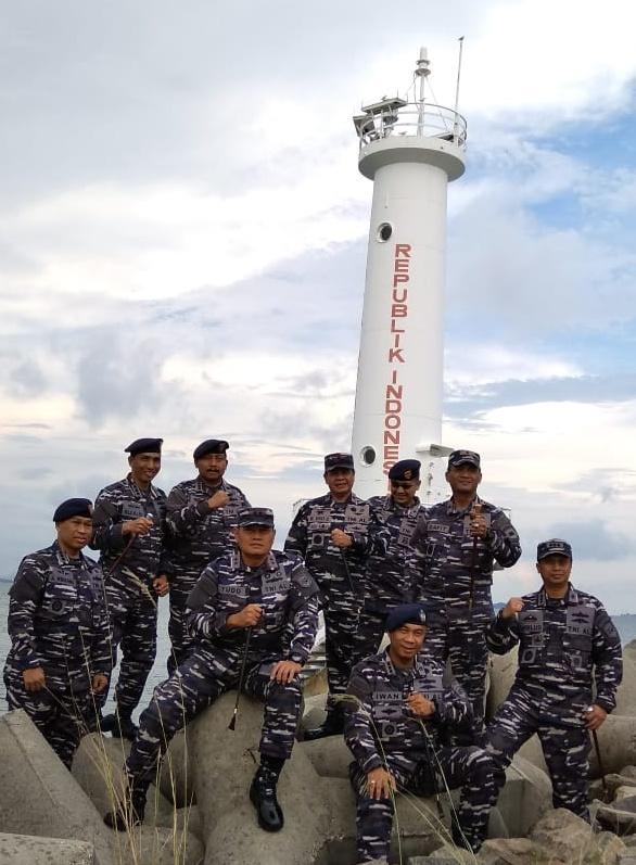 Pangkoarmada I Kunjungi Pulau Nipah