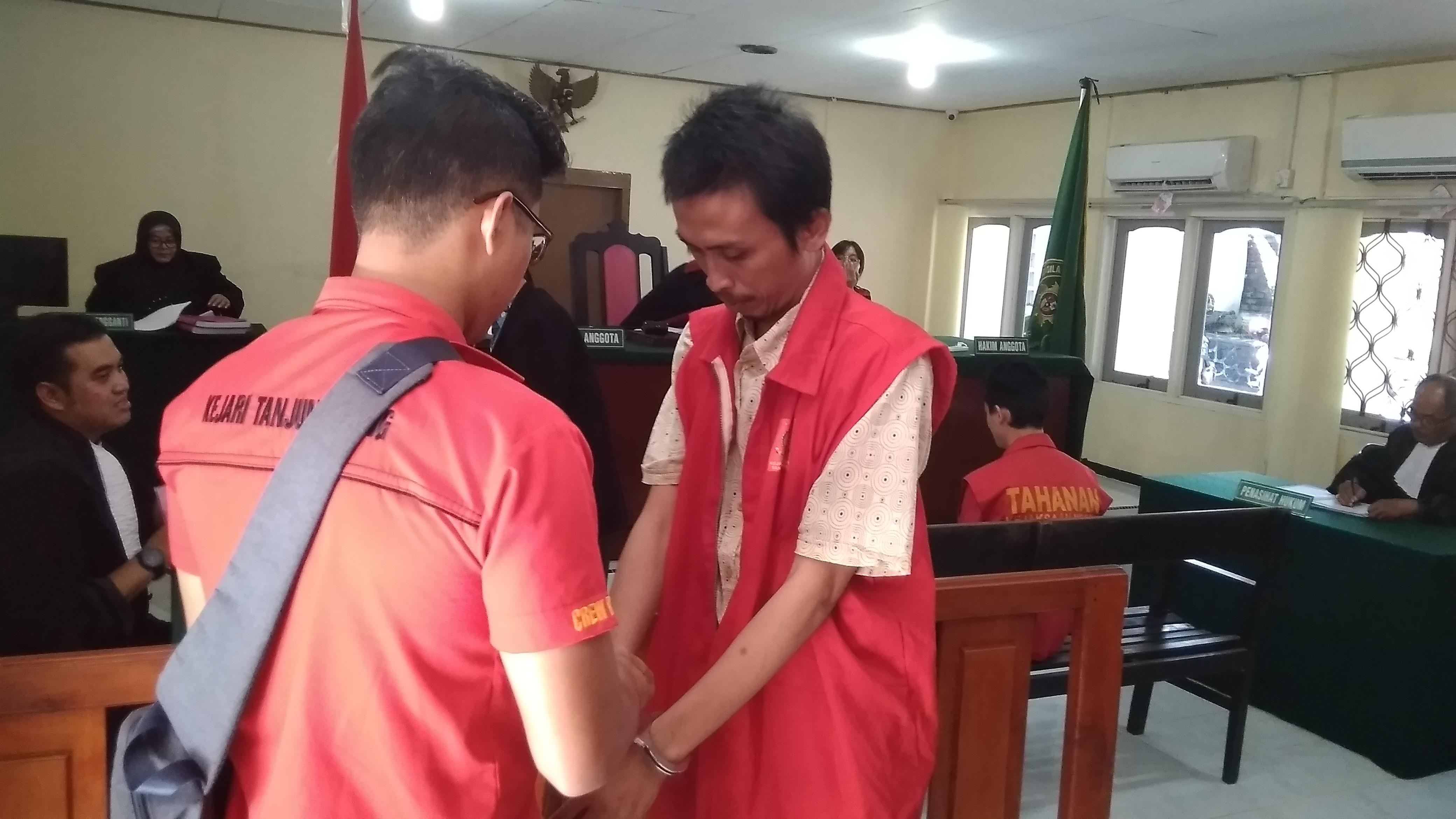 Miliki 0,07 Gram Sabu, Hendra Divonis 18 Bulan Penjara