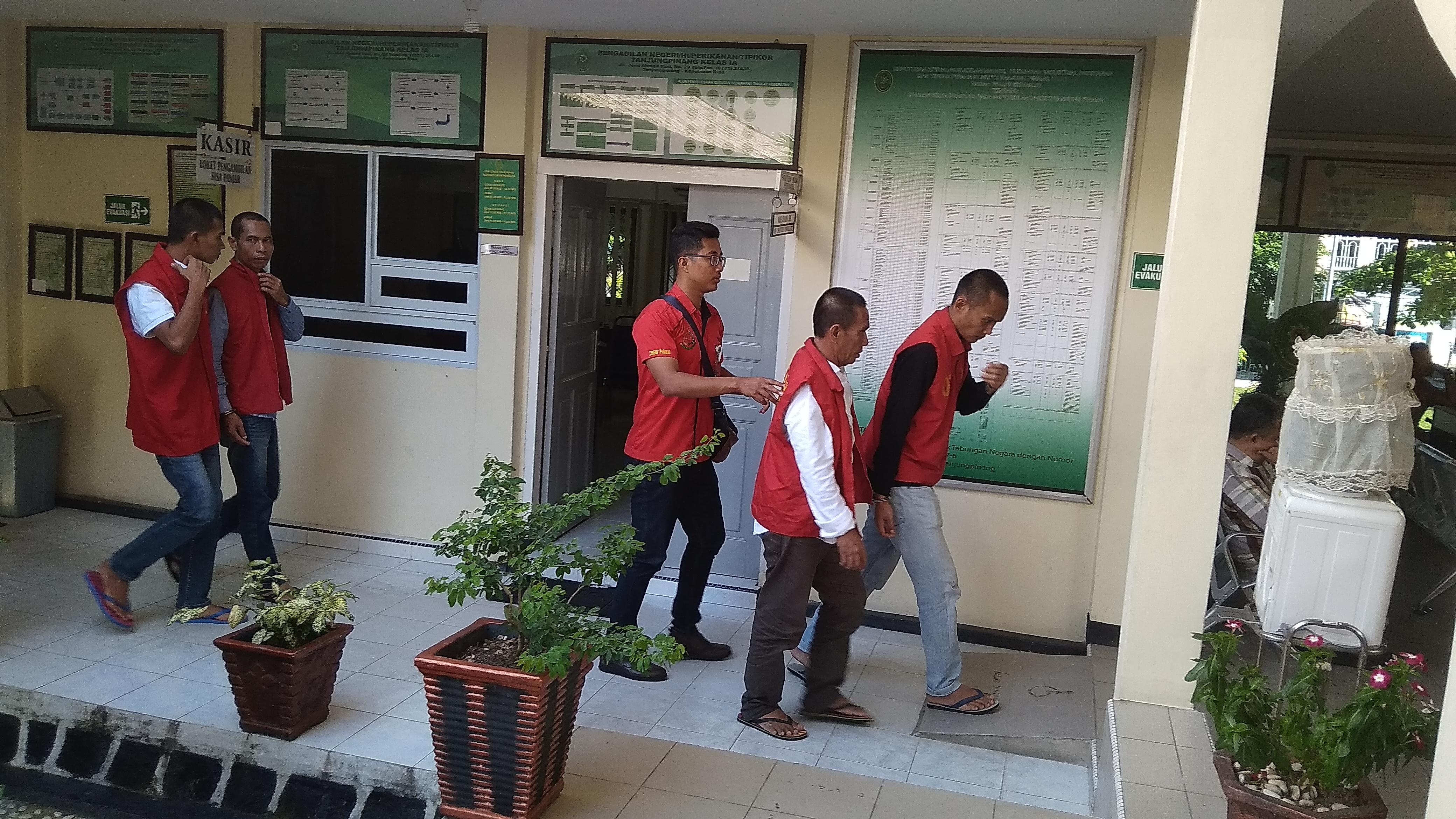 Coba Selundupkan Orang ke Malaysia, Empat Tekong TKI Illegal Disidang