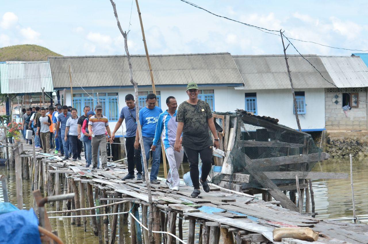Bupati Bintan : Pembangunan Infrastruktur Desa Penting