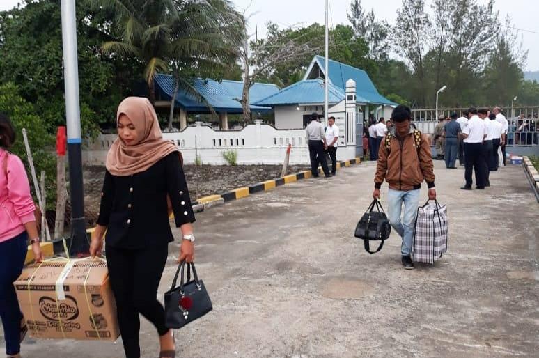 Pemkab Bintan Lepas Mudik Gratis ke Tambelan