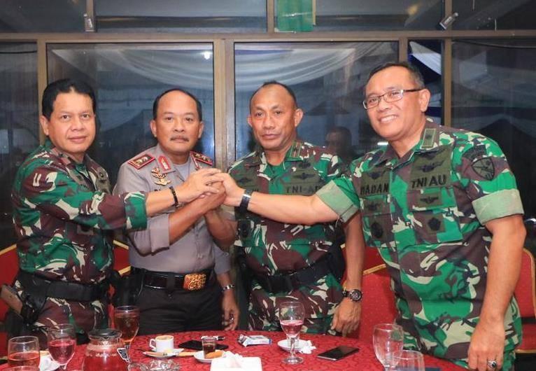 TNI-POLRI Bersinergi Dalam Pengamanan Pemilu Kota Tanjungpinang