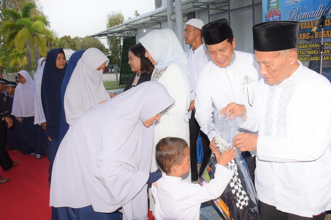 Lantamal IV Laksanakan Buka Puasa Bersama dan Peringatan Nuzulul Qur'an 1439 H Dengan Anak Panti
