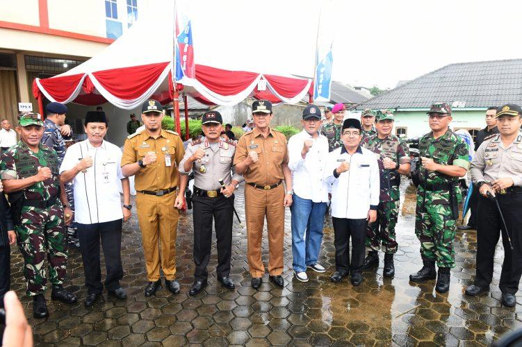 Wagub: TNI dan Polri Sangat Solid, Saya Yakin Pilwako Aman
