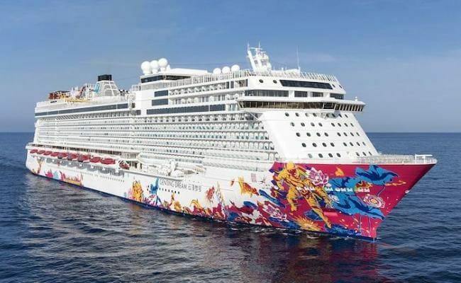 Sabtu ini, Kapal Pesiar Genting Dream Cruise Perdana Kunjungi Bintan.