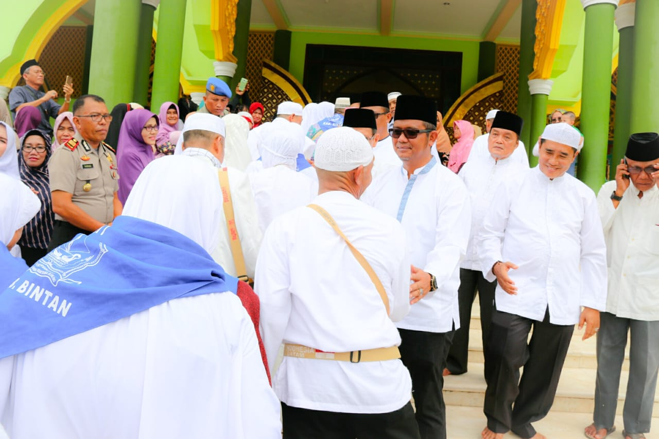 CJH Kabupaten Bintan Berangkat Tanggal 7 Agustus 2018