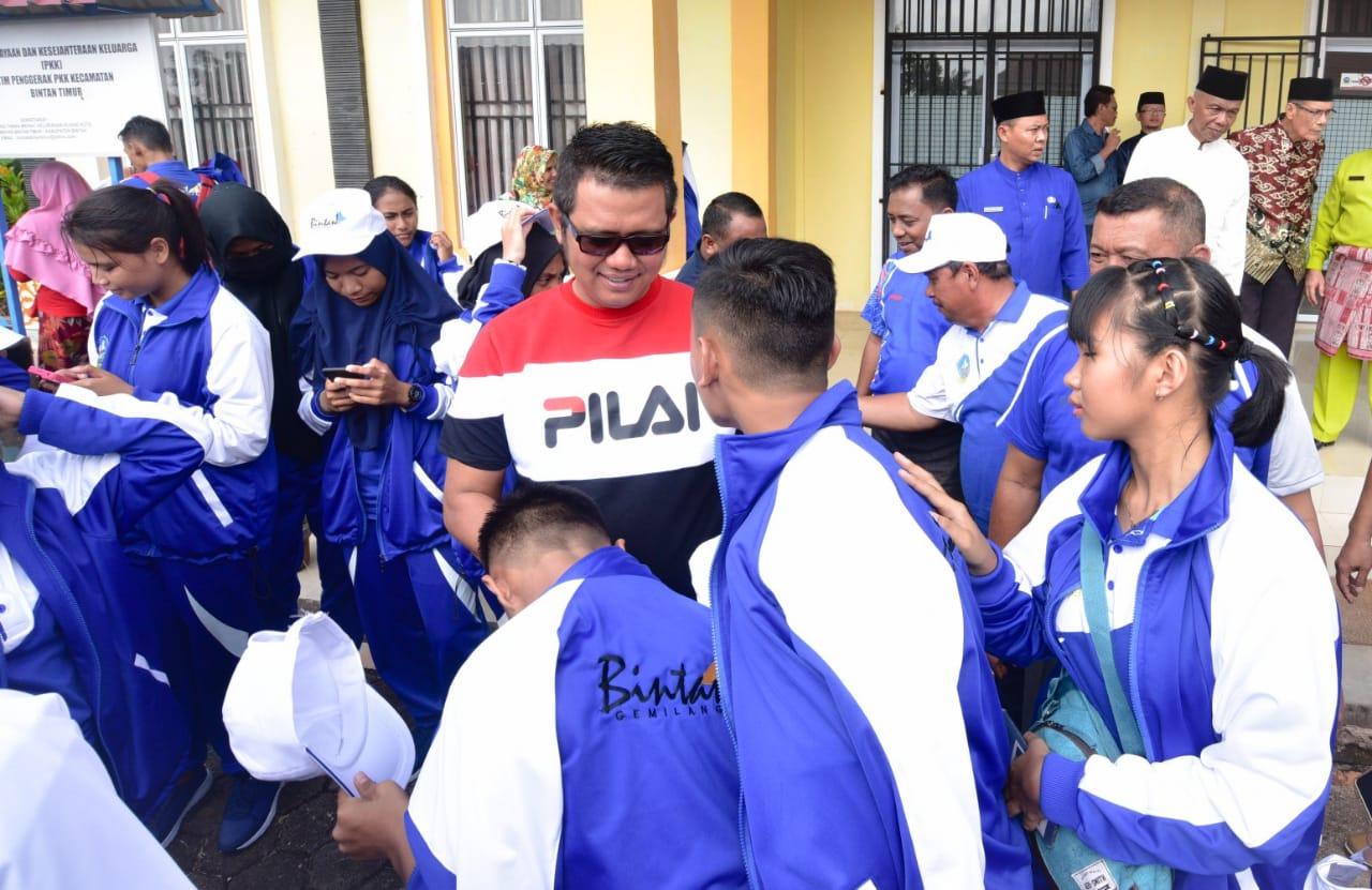 Bupati Bintan Siapkan Rewards 100 Juta Rupiah Untuk Atlet Berprestasi di Popda Kepri ke VII