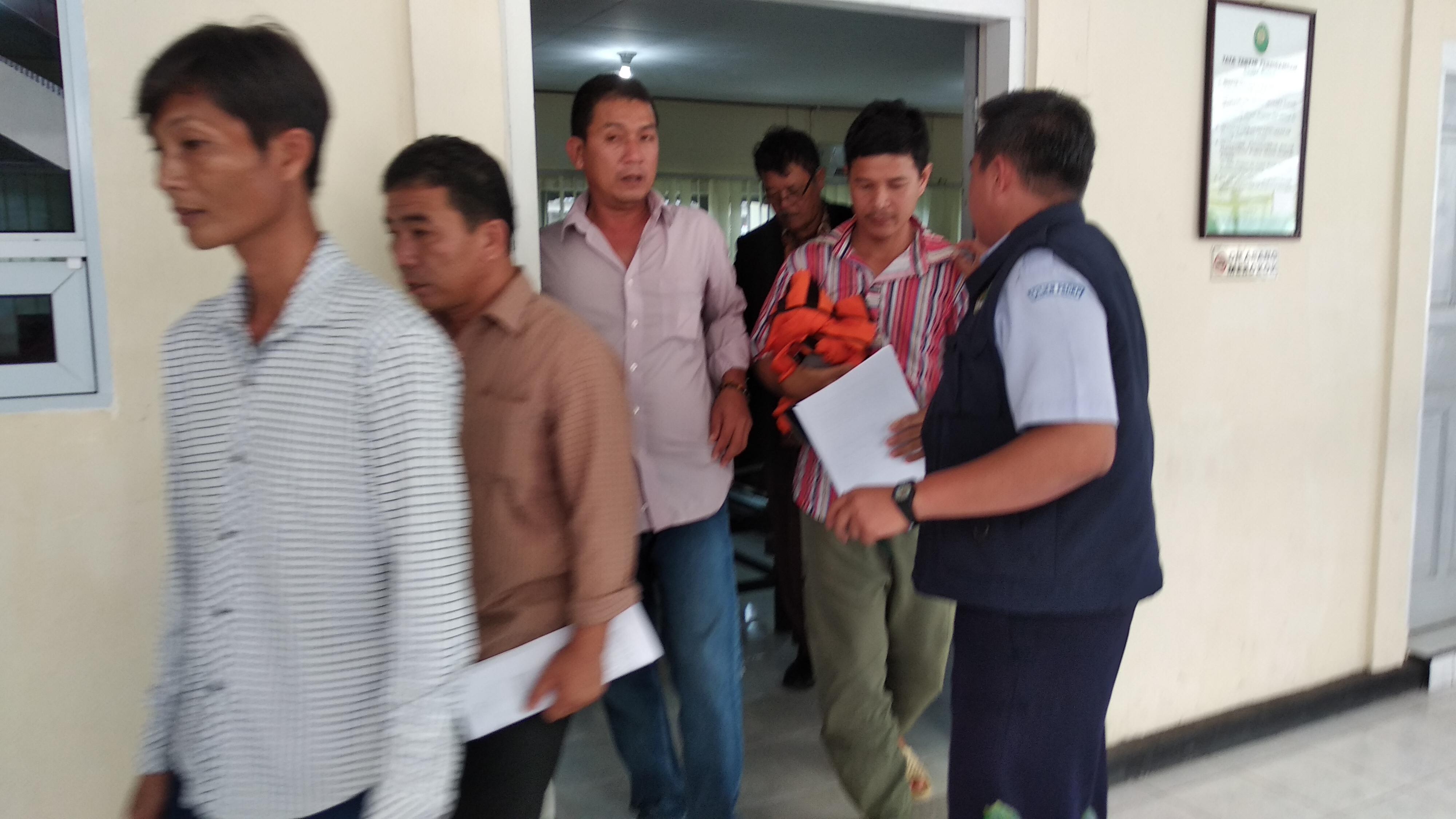 Didenda 300 Juta Rupiah, Empat WN Vietnam Pencuri Ikan Ini Memilih Dipenjara 6 bulan