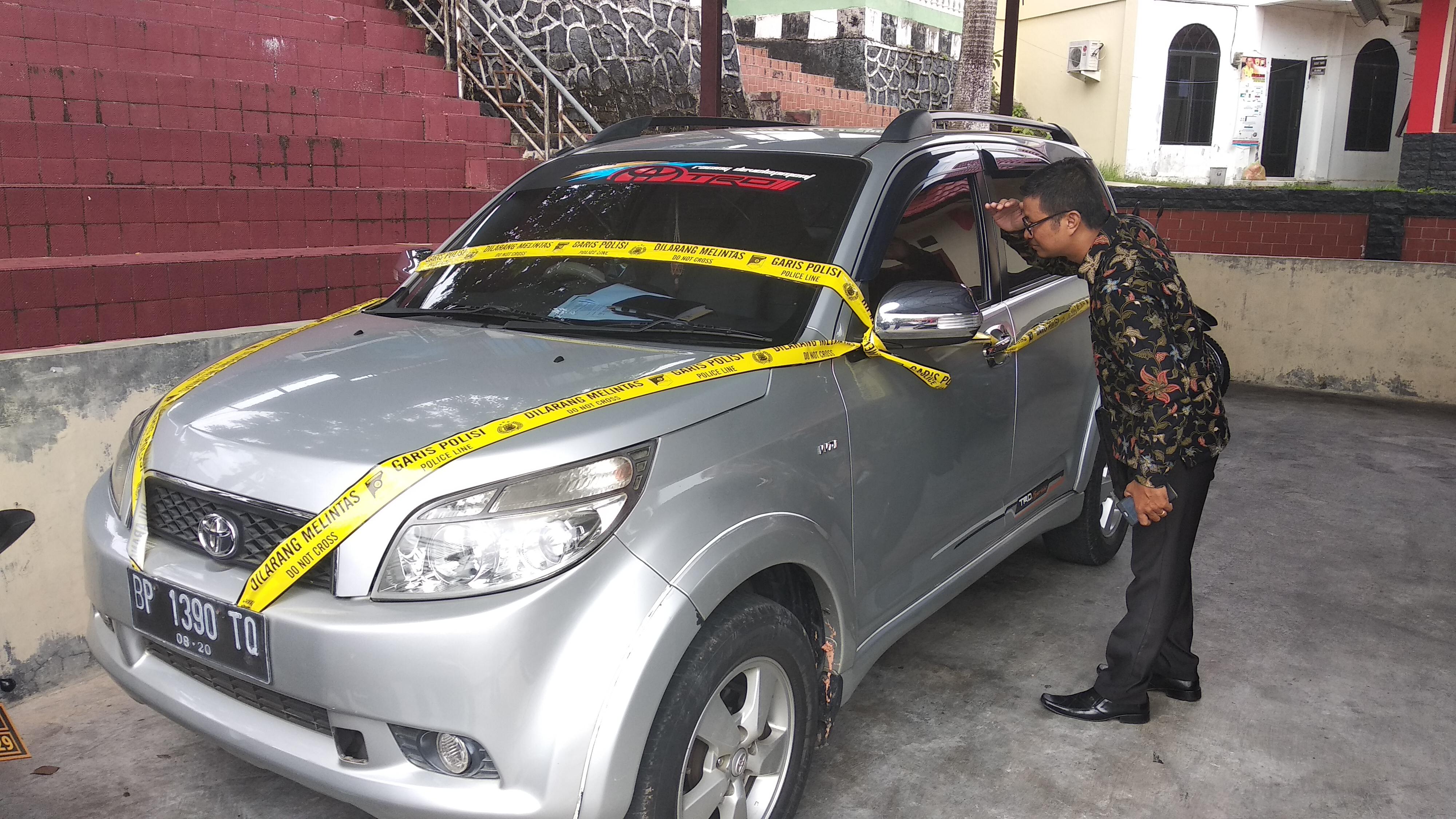 Polisi Amankan Mobil Diduga Milik Pelaku Pembunuhan Tini