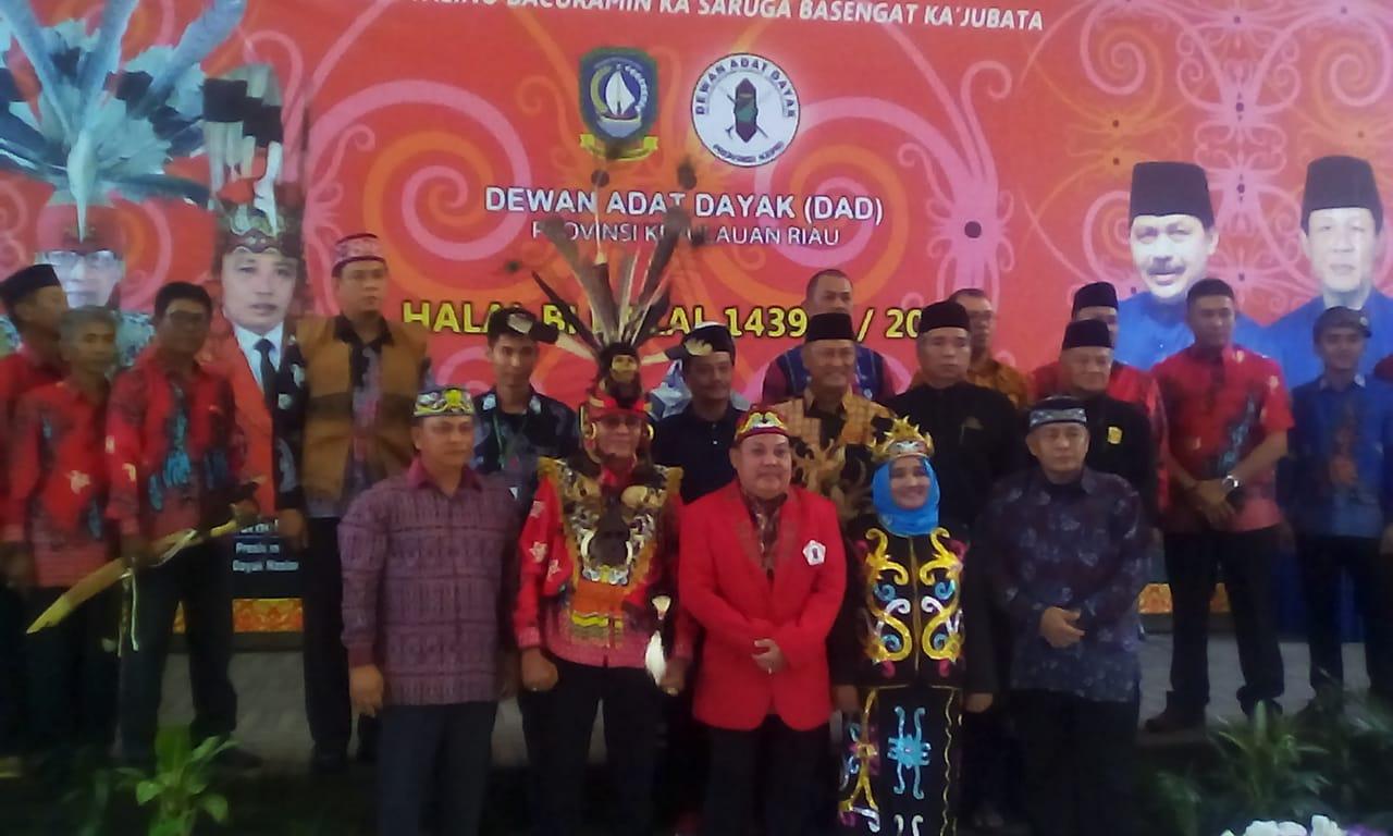 Halal Bihalal & Pengukuhan Dewan Adat Suku Dayak Provinsi Kepri 2018-2023