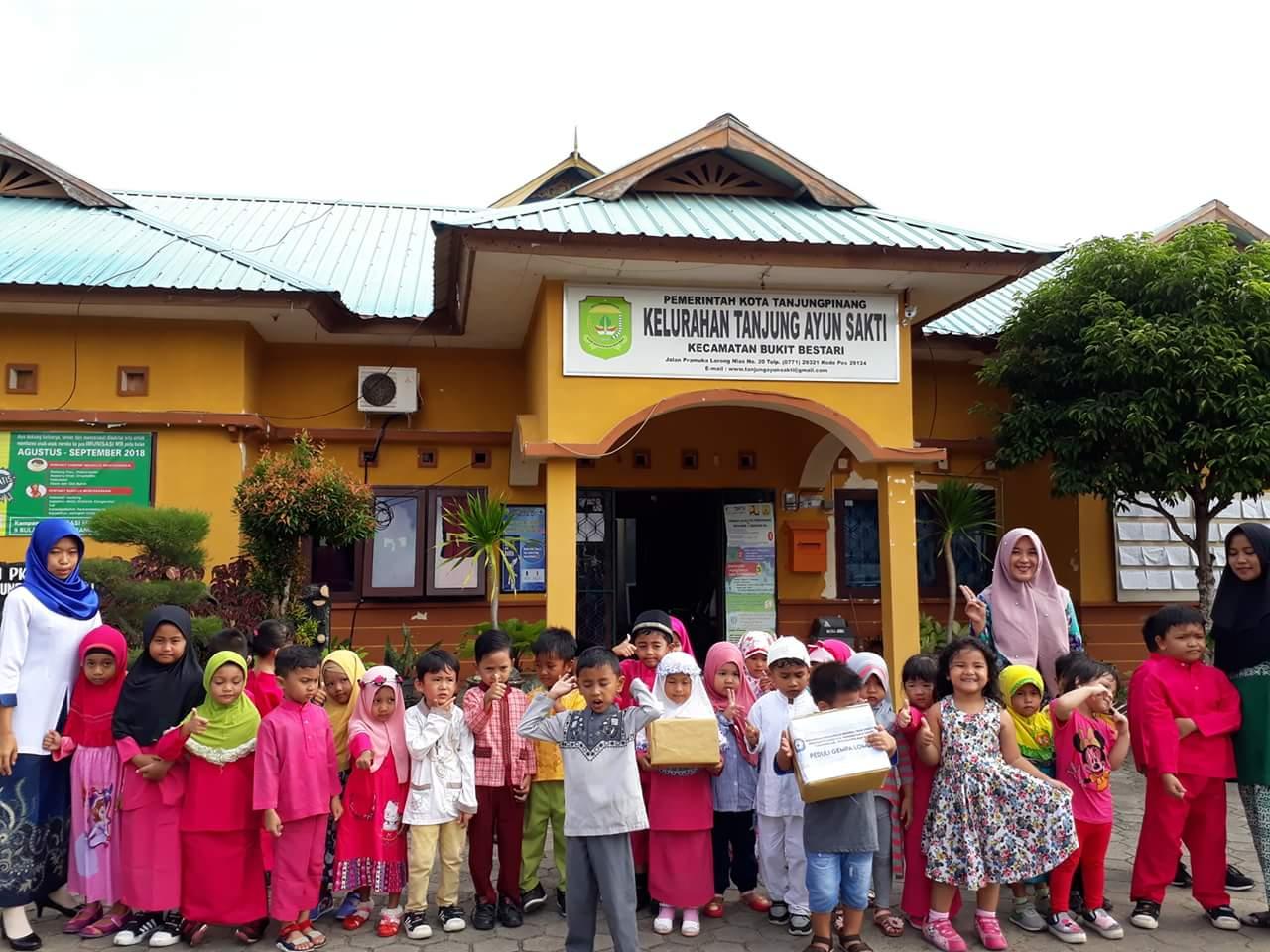 Peduli Gempa Lombok, Murid PAUD Talitha Ceria Galang Dana