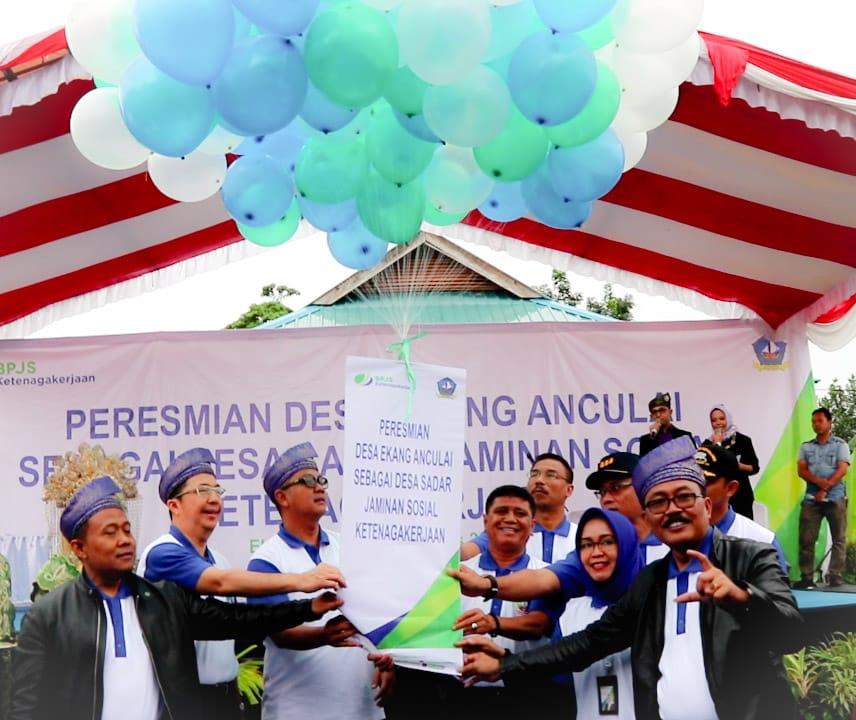 Desa Ekang Anculai Percontohan BPJS Ketenagakerjaan Tingkat Nasional