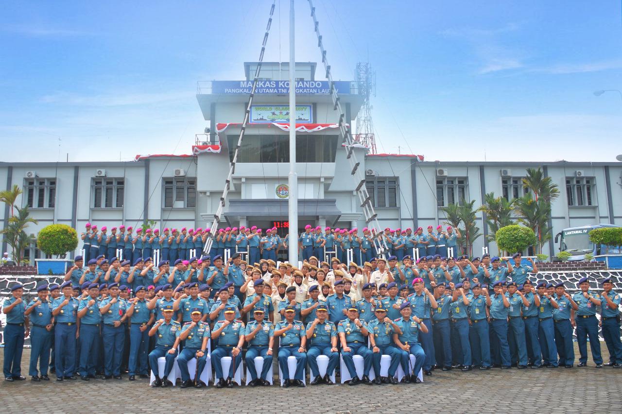 Kasal Kunjungi Mako Lantamal IV Tanjungpinang