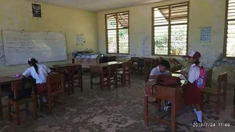 SD Negeri 004 Mantang Pulau Sirai Segera di Rehabilitasi