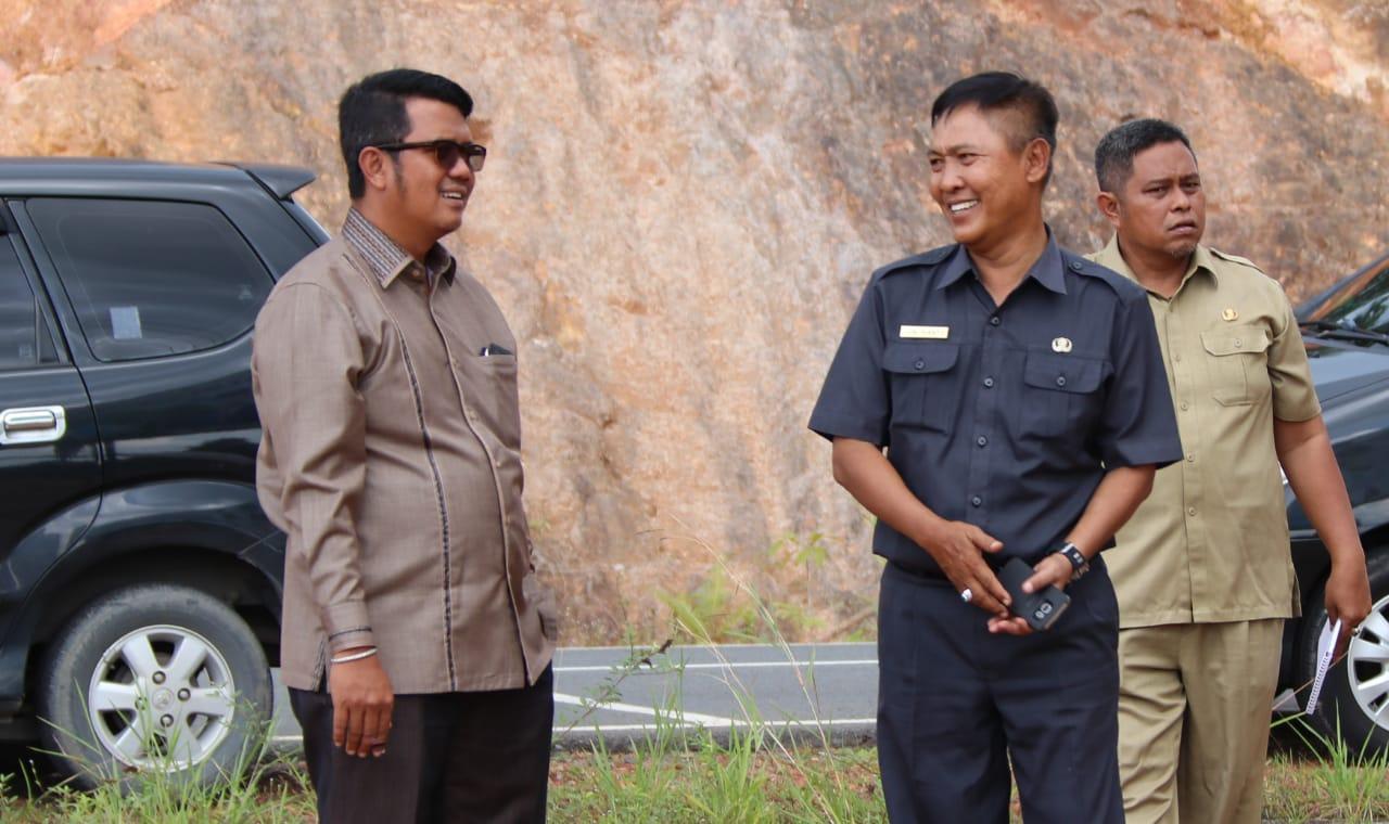 Junirianto : Progress Pelaksanaan Jalan Lintas Barat Lanjutan Masih Sesuai Schedule