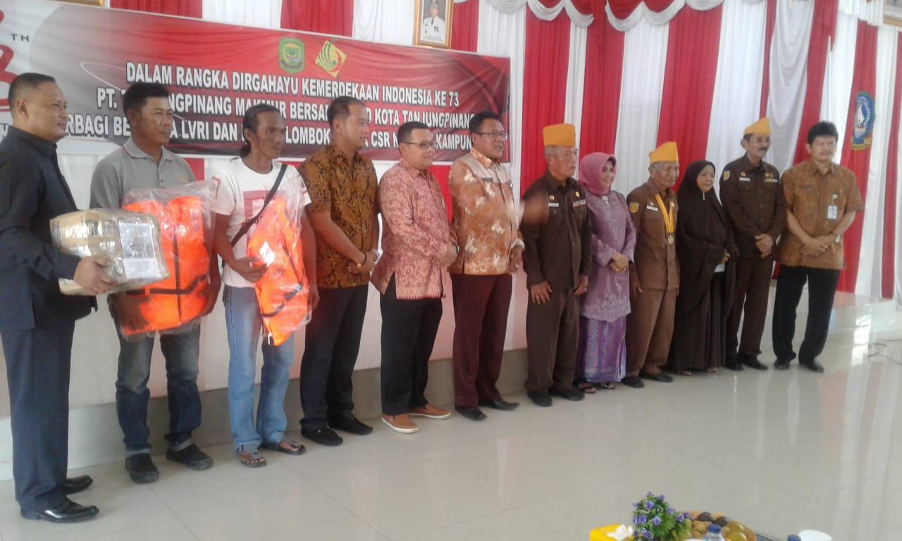 BUMD Tanjungpinang Berbagi Bersama Sempena HUT RI ke 73