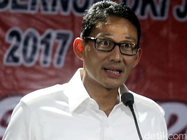 PD: Sandi Bayar PAN-PKS Rp 500 M untuk Jadi Cawapres Prabowo. Duet Prabowo-Sandi menguat !!