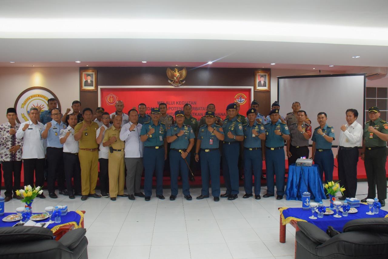 Ster TNI Gelar Komsos di Lantamal IV Tanjungpinang