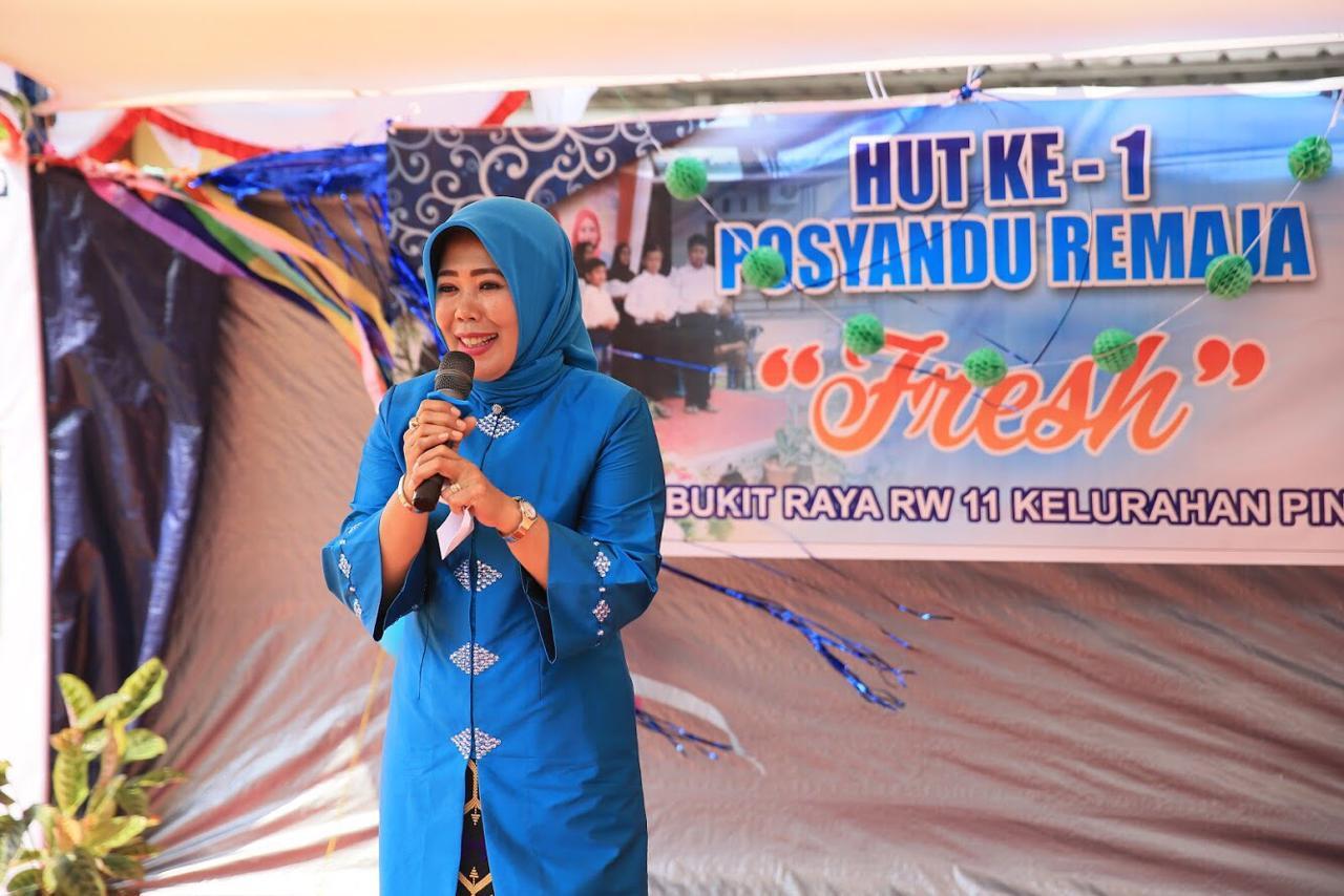 Handayani Ariza : Ayo Majukan Posyandu Remaja