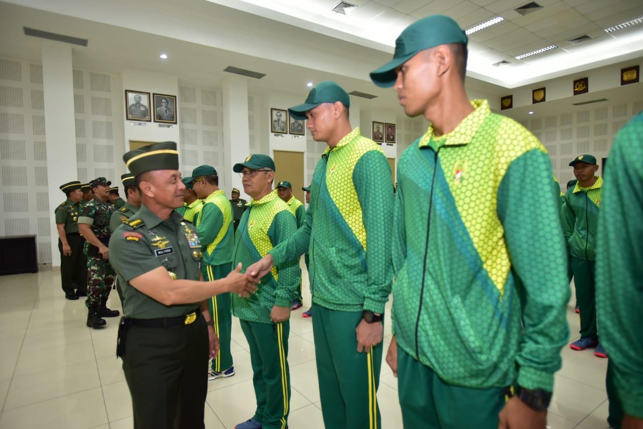 Kasad : Piala Panglima TNI 2018 Ajang Prestasi Olah Raga Tertinggi TNI